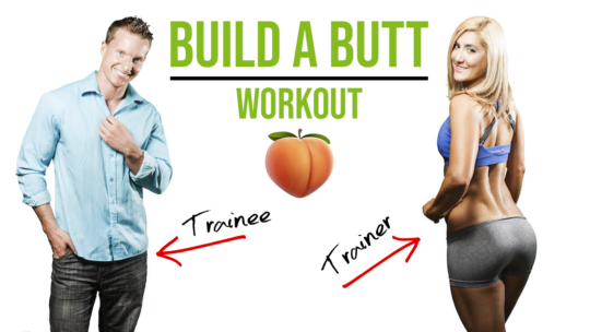 10 Minute Glute Workout For Men At Gym
