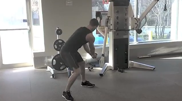 3 core strengthening exercises with weights while standing up
