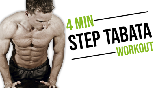 4 Minute Step Tabata Workout For Fat Loss