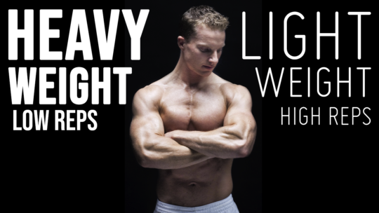 What Is The Best Rep Range To Build Muscle And Strength? (MUSCLE FIBER TYPES) | LiveLeanTV