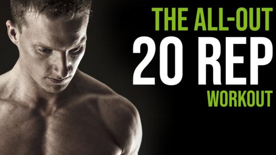 20 reps squat workout