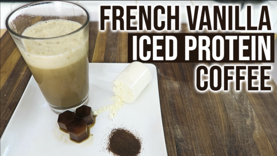 French Vanilla Iced Coffee Protein Shake Recipe With Instant Coffee