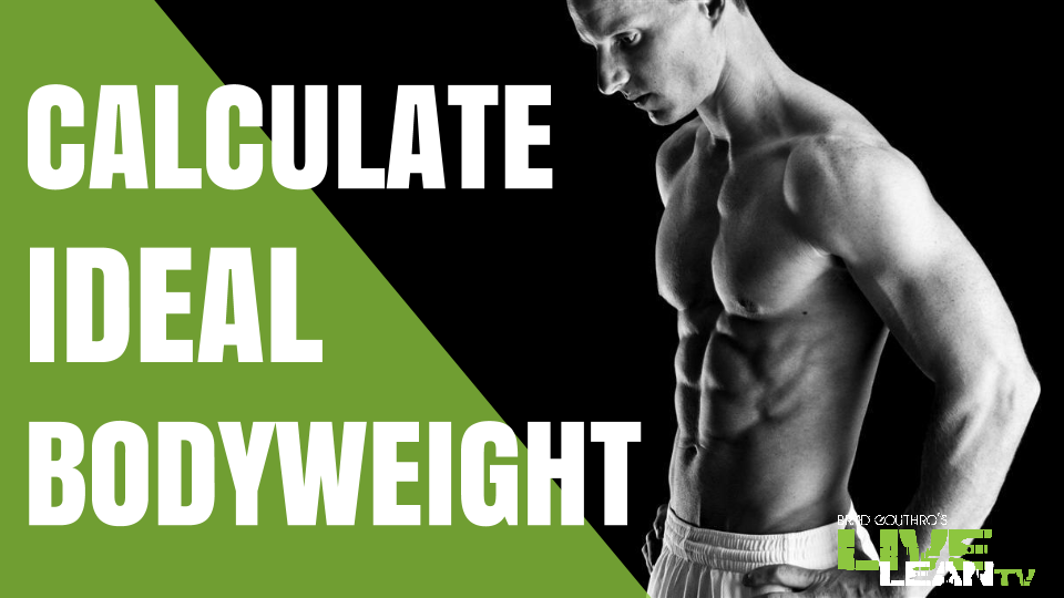 Calculating Your Ideal Body Weight