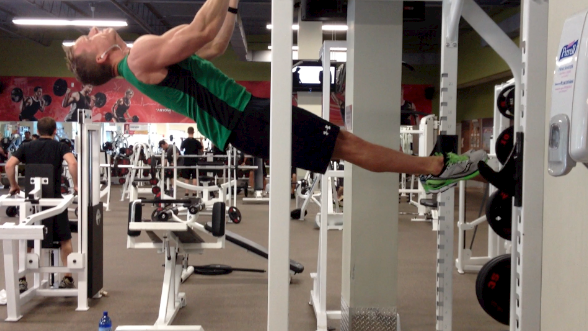 My New Front Lever Transformation 30 Day Goal