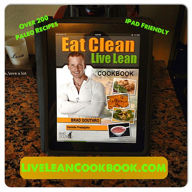 Live Lean Cookbook iPad