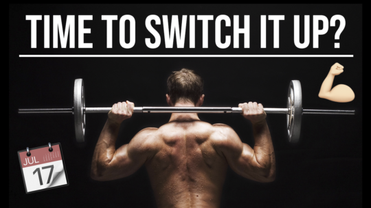 How Often Should You Change Your Workout Program?