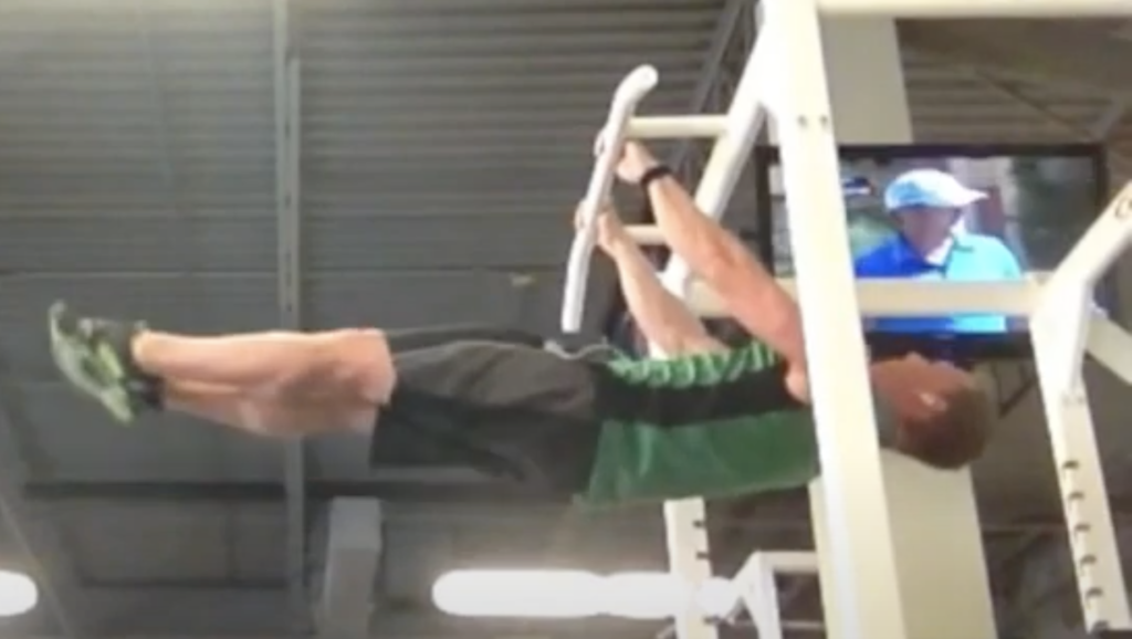 My One Month Front Lever Progression
