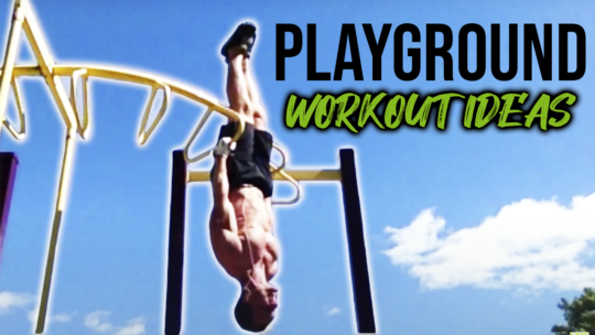 Advanced Outdoor Park Exercises To Get Shredded