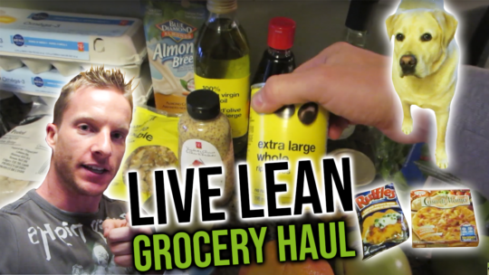 Grocery Haul To Stay Lean And Build Muscle