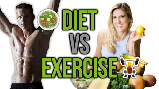 Working Out Vs Diet For Health And Weight Loss