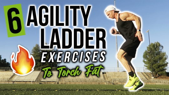 20 Minute Agility Ladder HIIT Cardio Workout