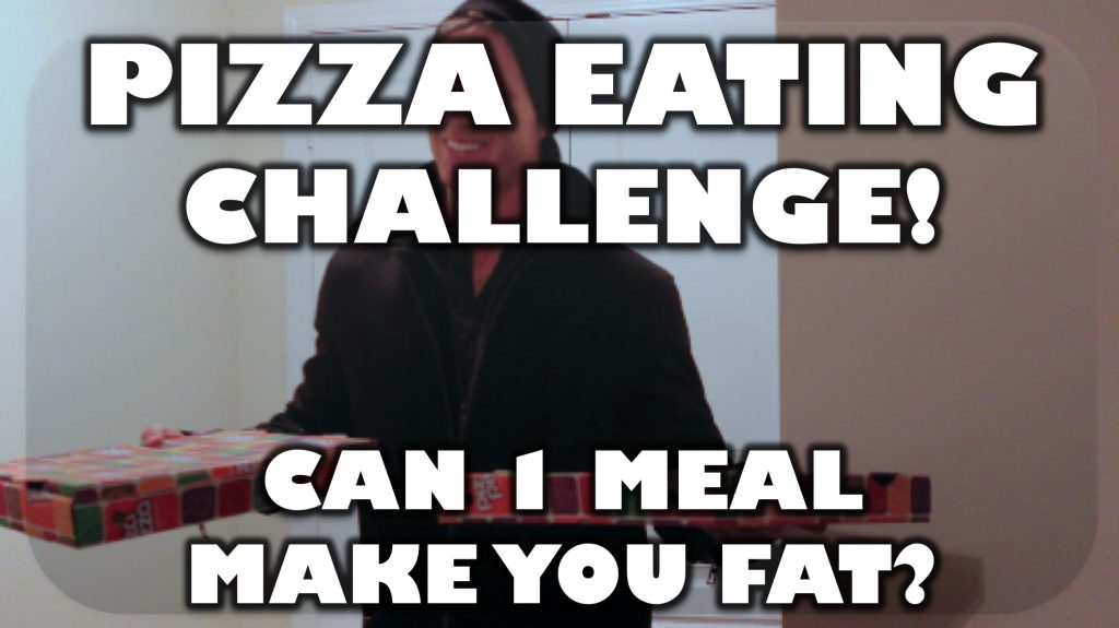 PIZZA EATING CHALLENGE