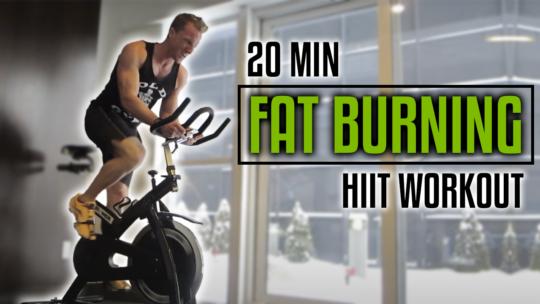 20 Minute Bike HIIT Workout