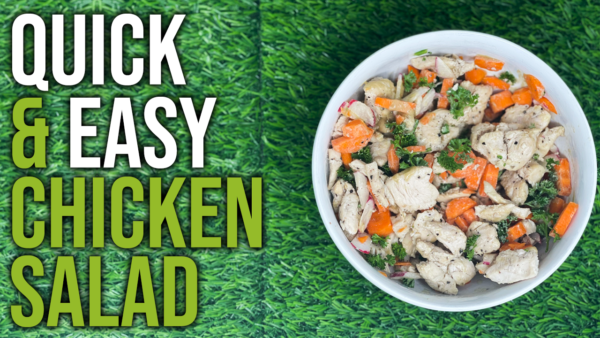How To Make A Healthy Tahini Chicken Salad Recipe For Weight Loss