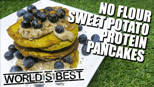 How To Make A Healthy Paleo Sweet Potato Protein Pancakes Recipe