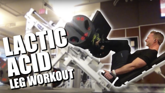 Leg Workout At The Gym For Mass And Fat Loss