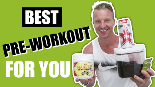Best Pre Workout Drink Options
