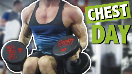 Chest Day Workout At The Gym For Mass And Fat Loss