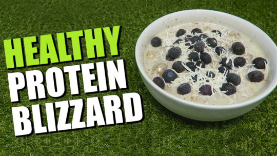 How To Make A Protein Ice Cream Blizzard Recipe