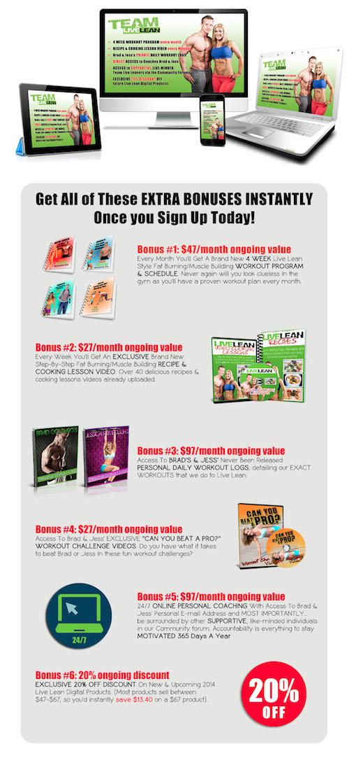 live lean sales page copy