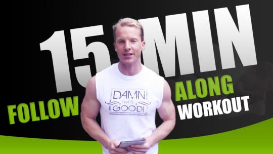 15 Minute Follow Along Bodyweight Workout Circuit