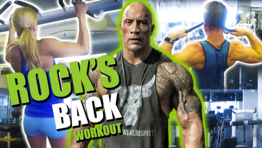 I Tried The Rock's Back Workout With My Wife