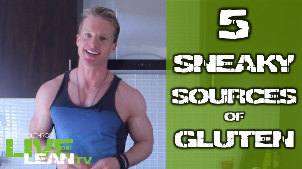 5 sneaky sources of gluten