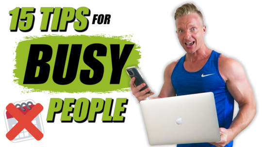 How To Find Time To Workout As Entrepreneurs With A Busy Schedule