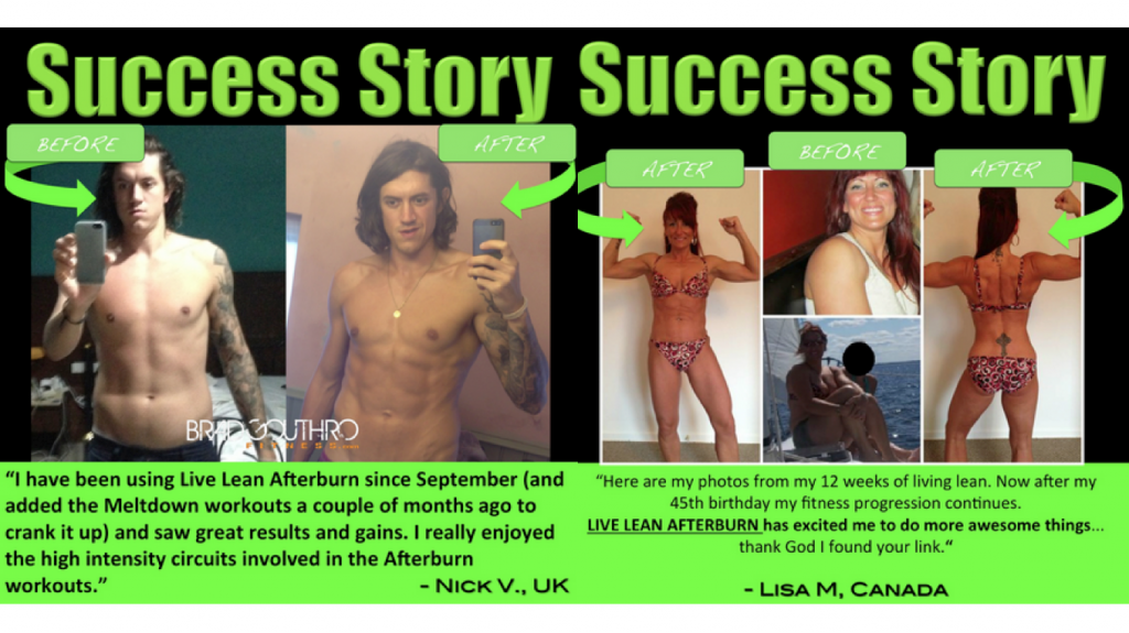 Live Lean Afterburn Success Story