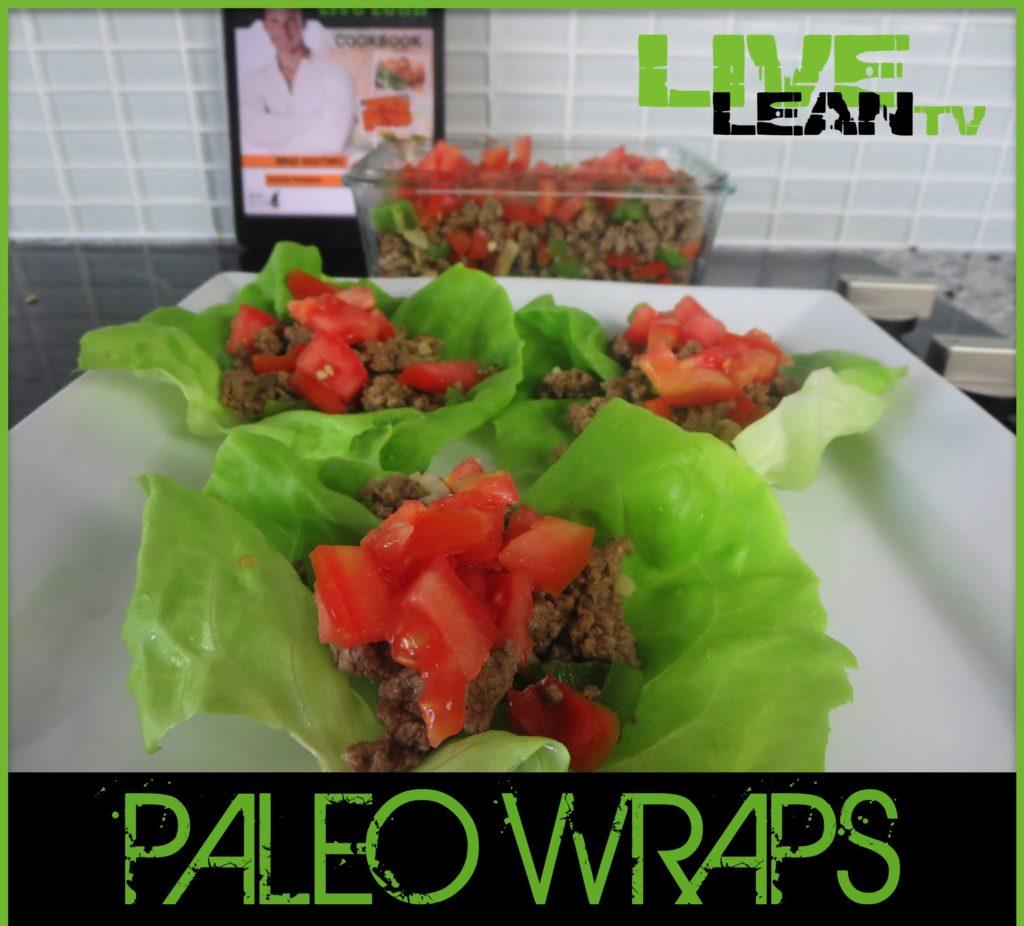 How To Make An Easy Beef Burrito Paleo Lettuce Wraps Recipe