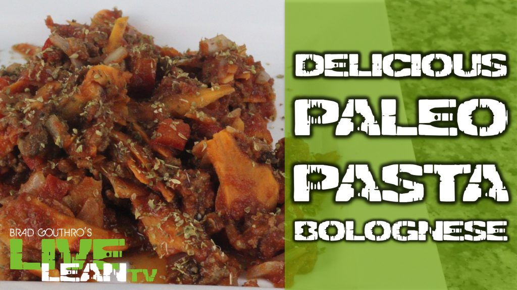 Cook Delicious Paleo Pasta Bolognese