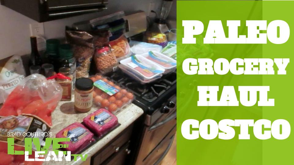 Paleo Grocery Haul From Costco