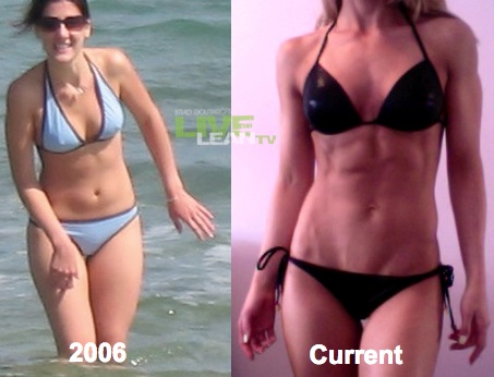Jessica Rumbaugh Before and After