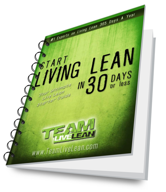 Start Living Lean Starter Guide 3D