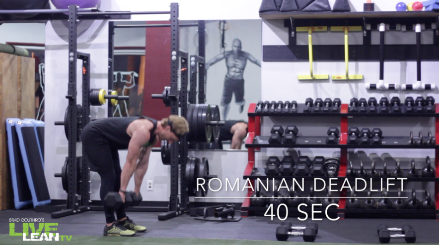Dumbbell Romanian Deadlift