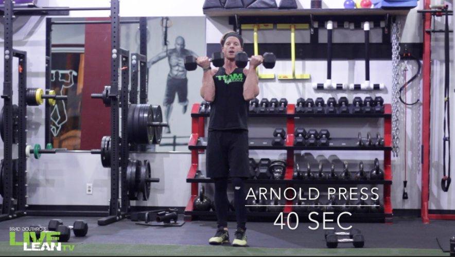 Dumbbell Arnold Press