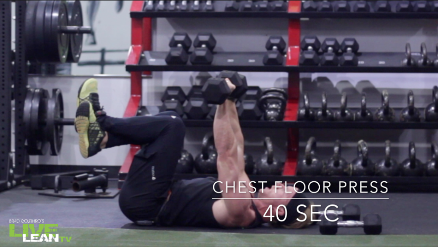 Chest Floor Press