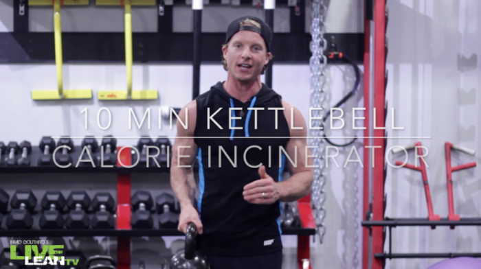10 Minute Calorie Incinerator HIIT Kettlebell Workout
