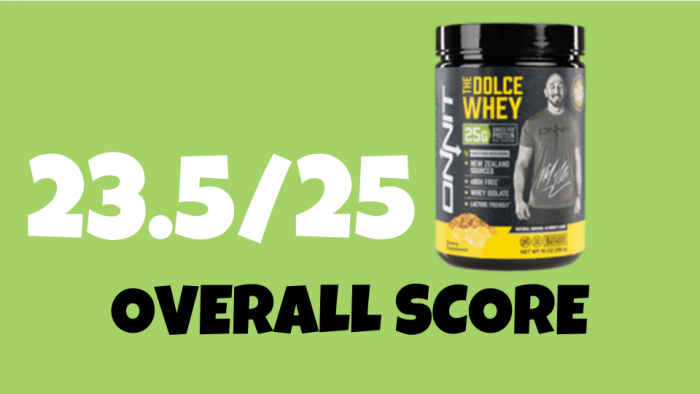The Dolce Whey By Onnit Protein Review