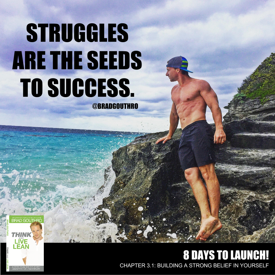 Struggles are the seeds to success