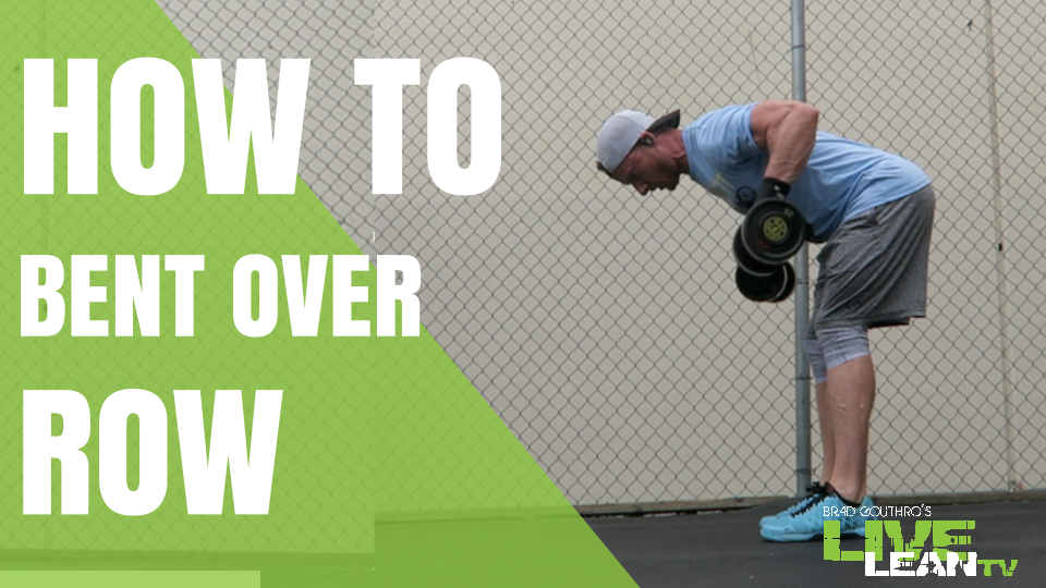 How To Do A Dumbbell Bent Over Row | Exercise Video and Guide