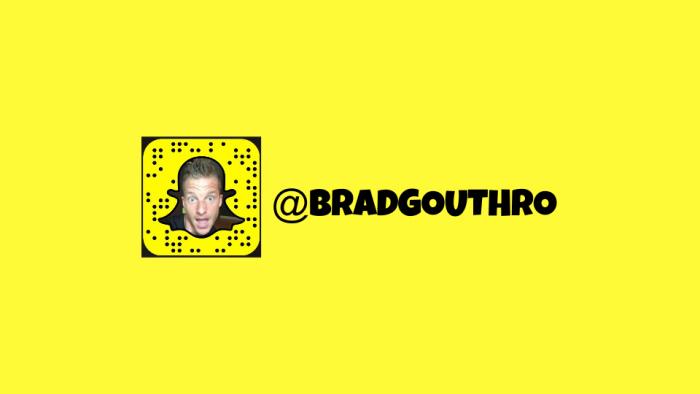 Snapchat Brad Gouthro