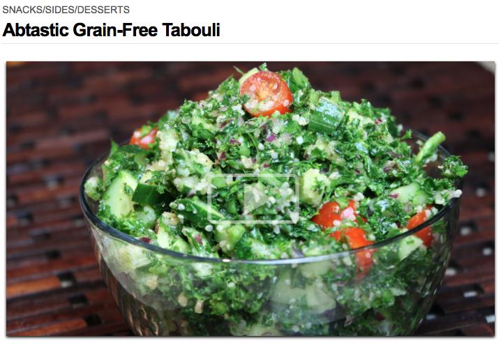 Abtastic Grain-Free Tabouli