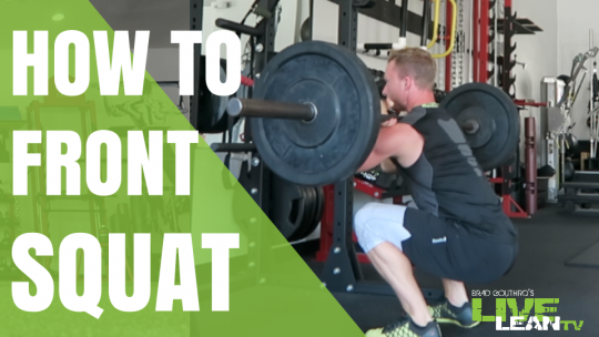How To Barbell Front Squat | Exercise Video and Guide