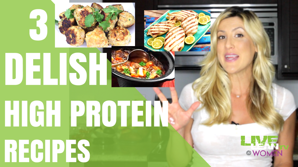 3 Delicious High Protein Recipes to Cook in Bulk