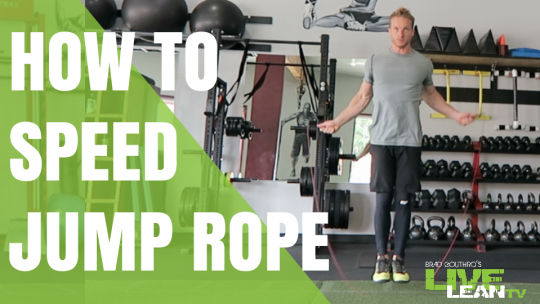 How To Speed Jump Rope   Exercise Video and Guide