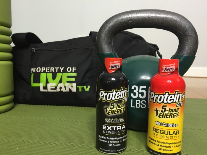 5-Hour Energy With Protein