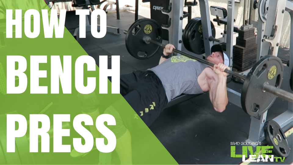 How To Do A Barbell Flat Bench Press