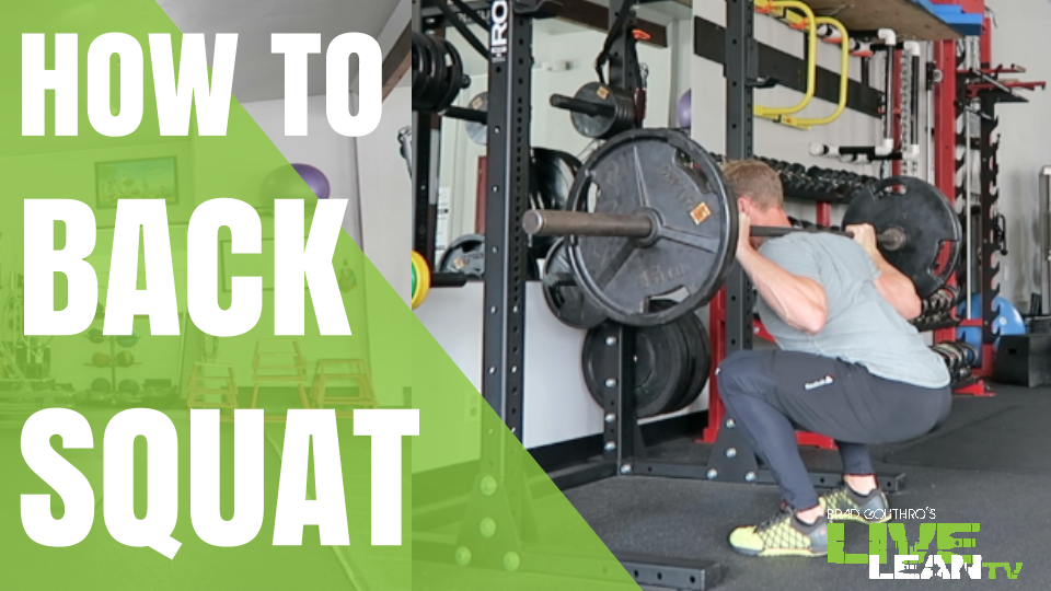 How To Do A Barbell Back Squat | Exercise Video and Guide