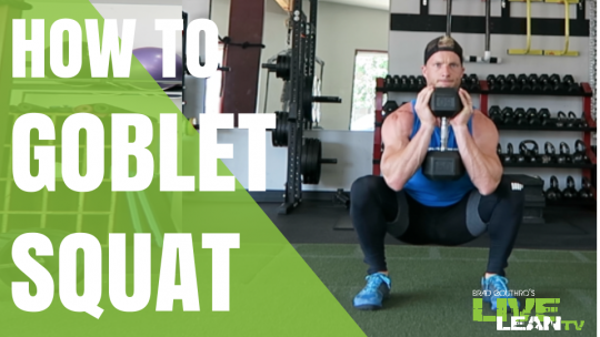 How To Do A Dumbbell Goblet Squat | Exercise Video and Guide